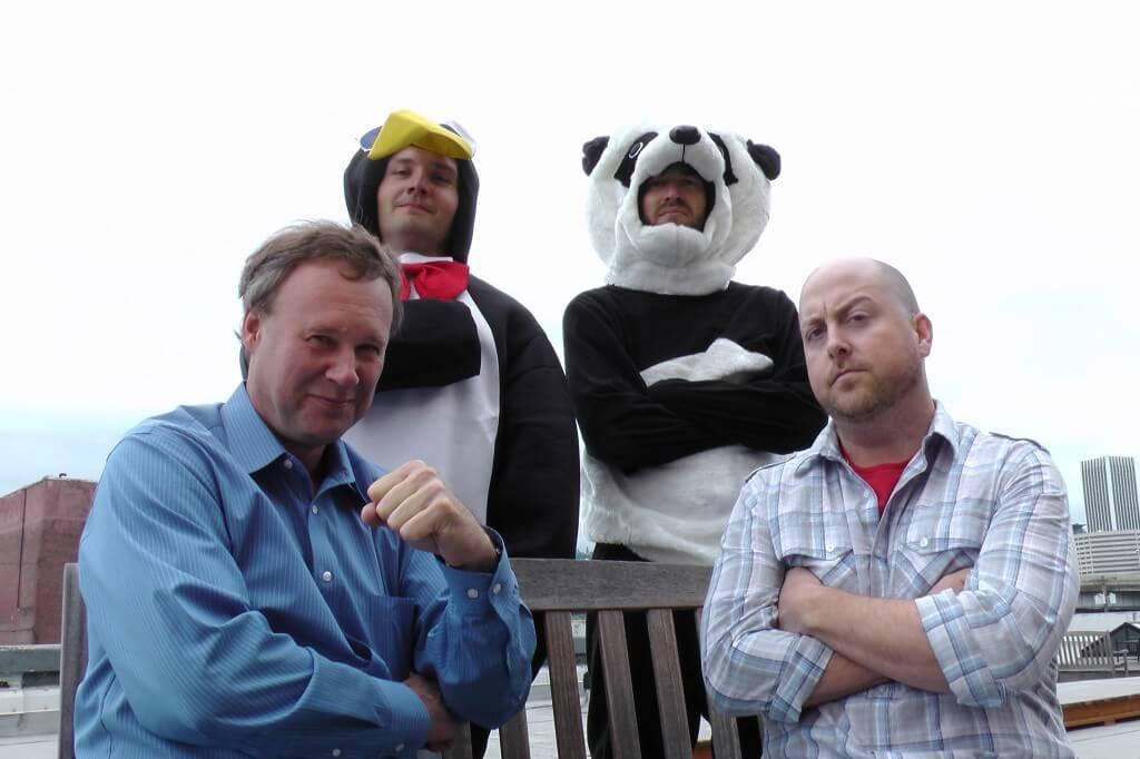 Michael & Ben vs. Penguin & Panda