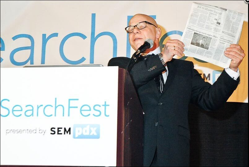 Marty Weintraub SearchFest 2013 keynote