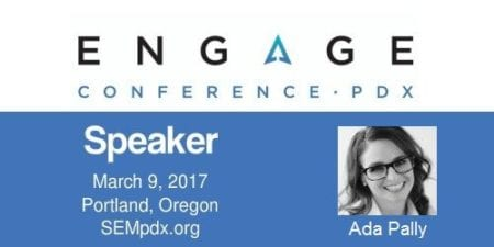 Ada Pally - SEMpdx Engage 2017 Speaker