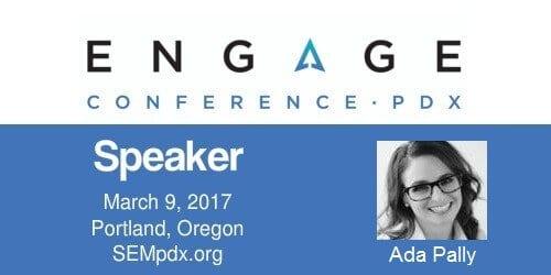 2017 Engage Mini-Interview:  Ada Pally