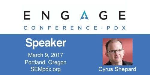 2017 Engage Mini-Interview:  Cyrus Shepard