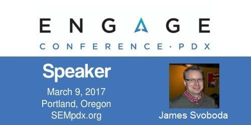 James Swoboda - SEMpdx Engage 2017 Speaker
