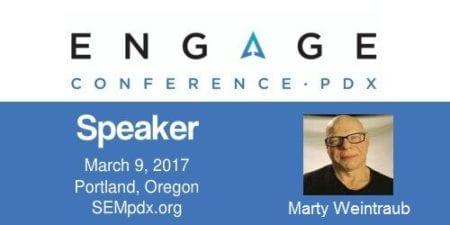 Marty Weintraub - SEMpdx Engage 2017 Speaker