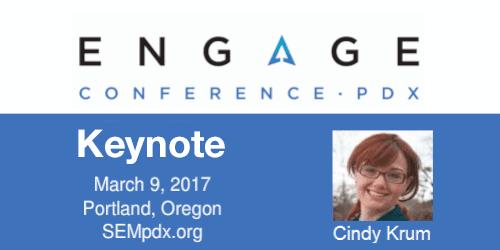 2017 Engage Keynote Interview:  Cindy Krum