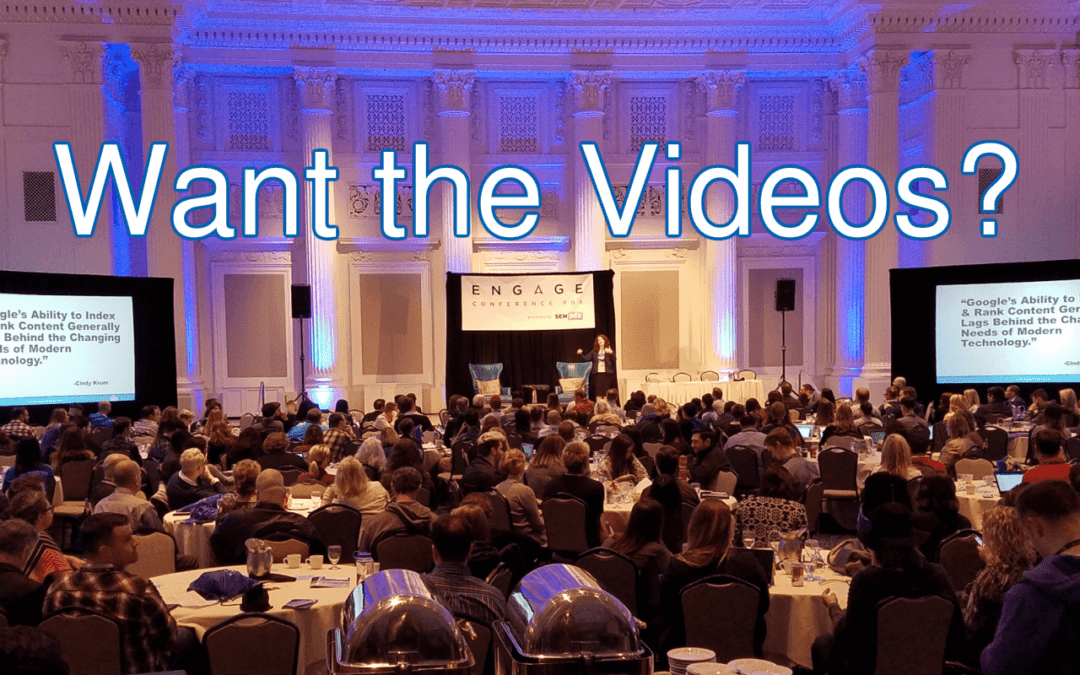 Missed Engage? Get the Videos!