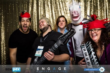 Engage Conference 2017 After Party photo booth