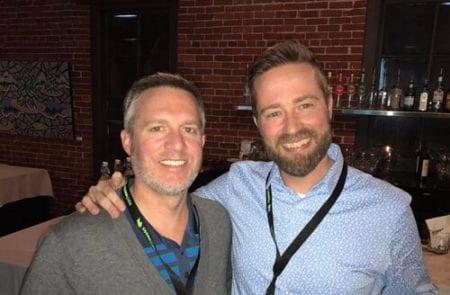 John McPhee and Ryan Campbell