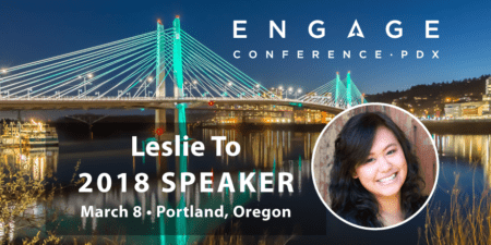 Engage 2018 Speaker - Leslie To
