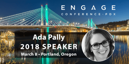 Engage 2018 Mini-Interview:  Ada Pally