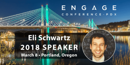 Engage 2018 Mini-Interview:  Eli Schwartz