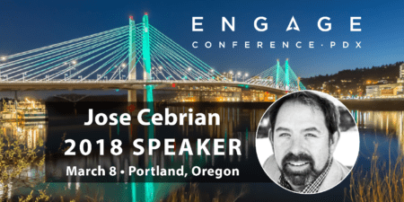 Engage 2018 Mini-Interview:  Jose Cebrian