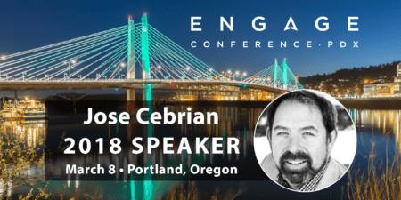 Engage 2018 Mini-Interview:  Jose Cebrian