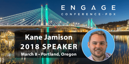 Engage 2018 Mini-Interview:  Kane Jamison
