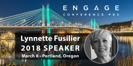 Engage 2018 Mini-Interview:  Lynnette Fusilier