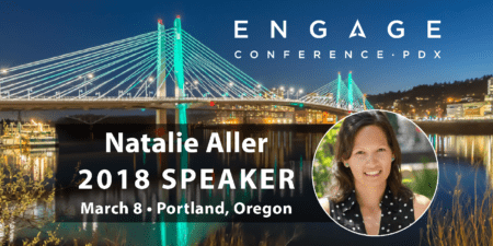 Engage 2018 Mini-Interview:  Natalie Aller