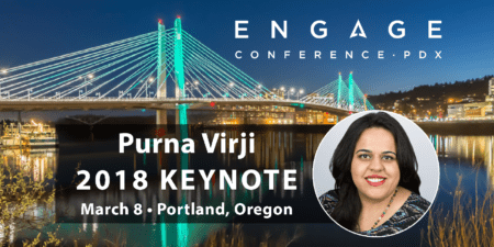 Engage 2018 Keynote Interview:  Purna Virji