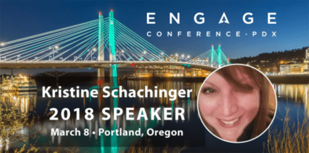 Engage 2018 Mini-Interview:  Kristine Schachinger