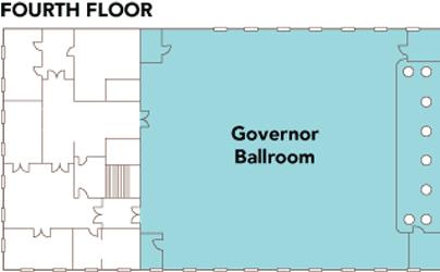 Sentinel - Fourth Floor Plan - Governor Ballroom