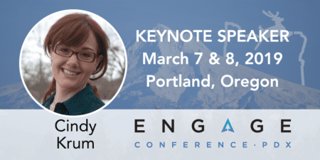 Engage 2019 Keynote Speaker - Cindy Krum - March 7 & 8, Portland, Oregon