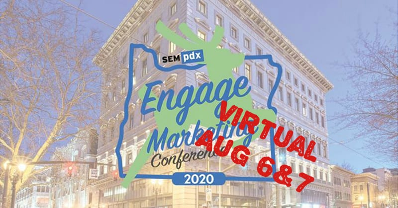 Engage virtual - Aug 6 & 7, 2020