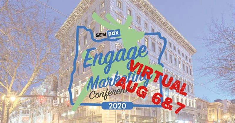 Engage virtual - Aug 6 & 7, 2020