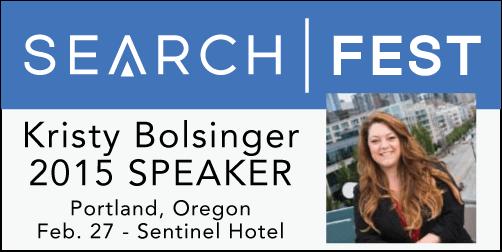 2015 SEMpdx SearchFest Mini-Interview:  Kristy Bolsinger