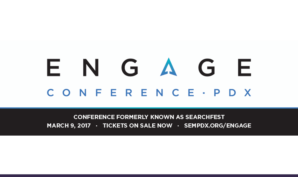 SEMpdx Unveils Engage Conference Branding