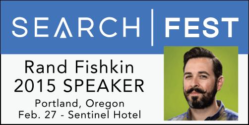 2015 SEMpdx SearchFest Mini-Interview:  Rand Fishkin