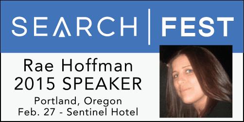 2015 SEMpdx SearchFest Mini-Interview:  Rae Hoffman