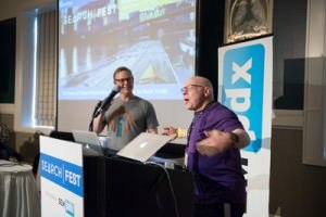 Marty Weintraub and Will Scott at SearchFest 2015