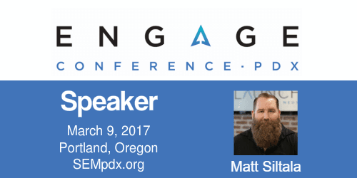 2017 Engage Mini-Interview:  Mat Siltala