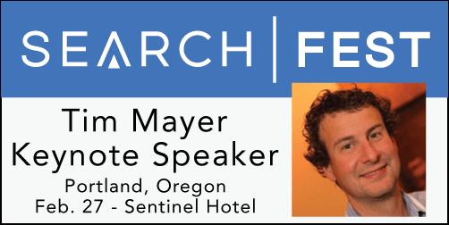 2015 SEMpdx SearchFest Keynote Interview:  Tim Mayer