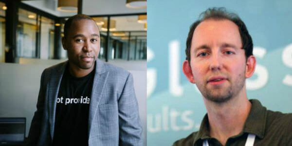 (L to R) Michael King and Dr. Pete Meyers will keynote the 2016 SearchFest conference.