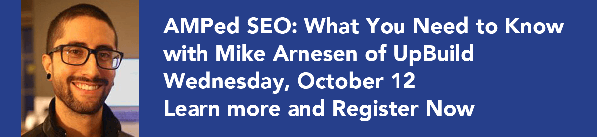 AMPed SEO with Mike Arnesen | SEMpdx