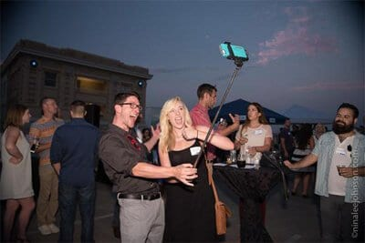 SEMpdx Rooftop 2015 selfie photo by Nina Johnson