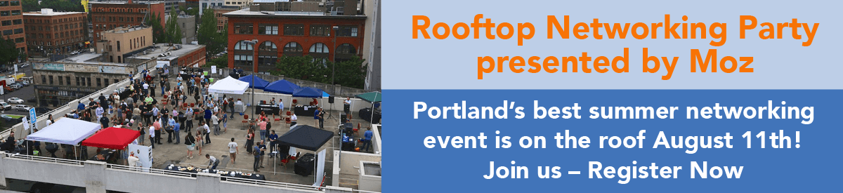 Rooftop Networking Party presented by Moz - Aug. 11, 2015
