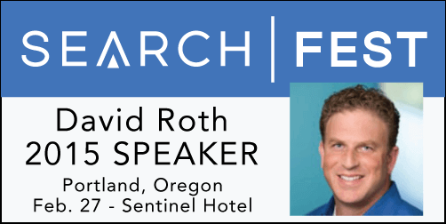 2015 SEMpdx SearchFest Mini-Interview:  David Roth