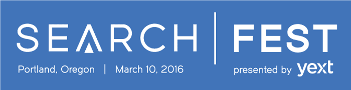 SearchFest 2016 presented by Yext