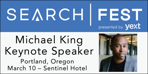 SearchFest 2016 Keynote Interview:  Michael King