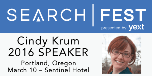 SearchFest 2016 Mini-Interview:  Cindy Krum