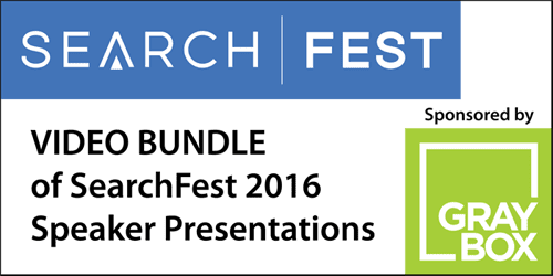 March 10, 2016 – SearchFest