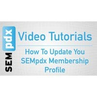 SEMpdx's Featured Member Profile for October 2014