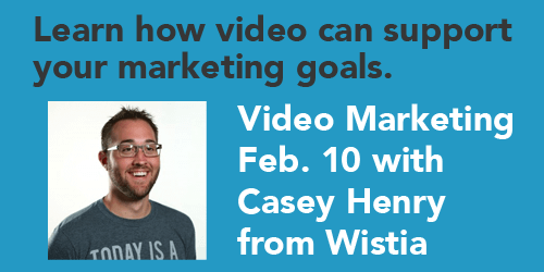SEMpdx Video Marketing Event Feb. 10, 2015 with Casey Henry